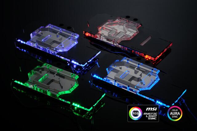 Phanteks Glacier-GPU-Wasserkühler für die Custom-Designs der GTX 1080