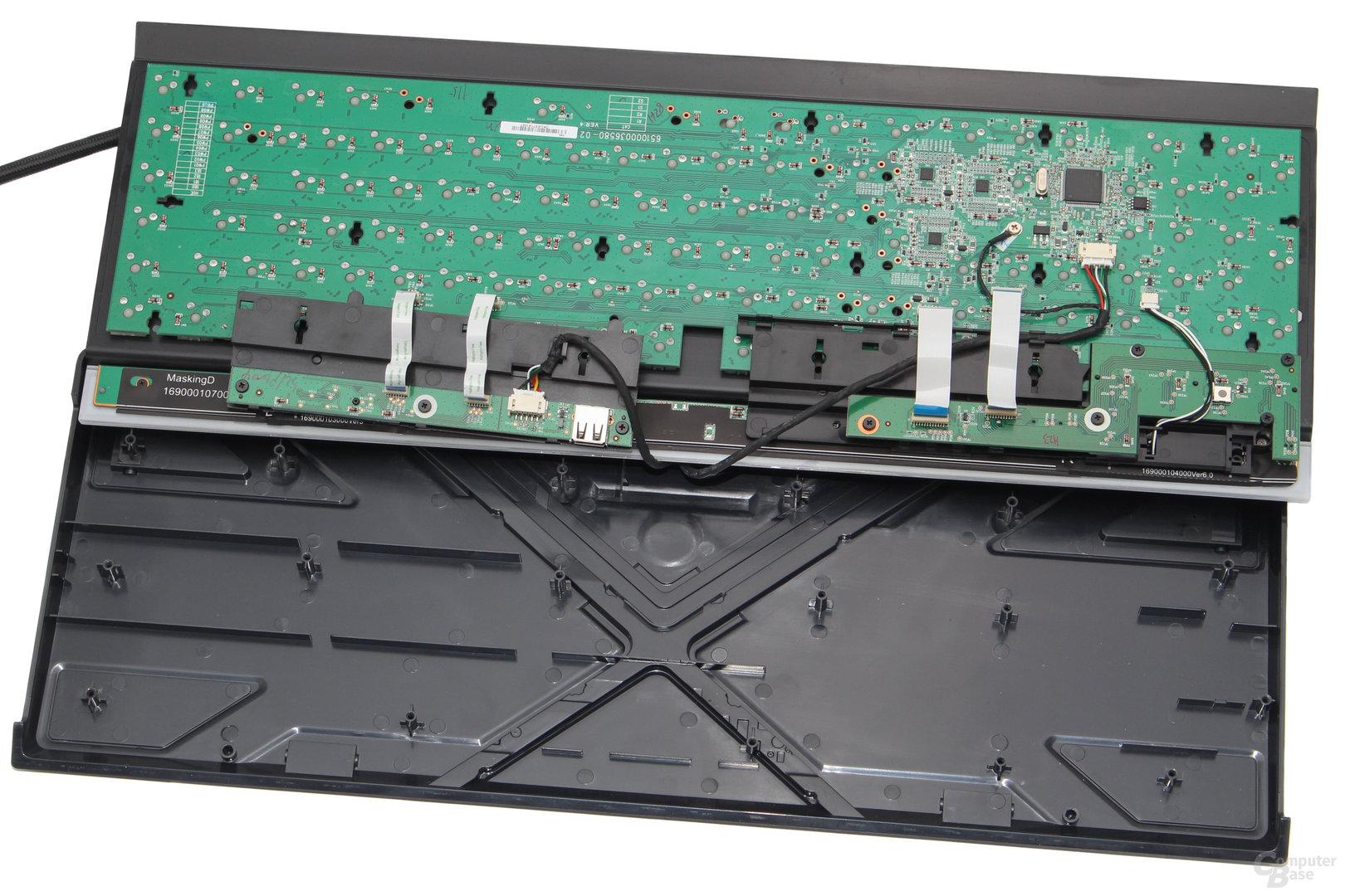 Für alle Zusatzfunktionen nutzt Corsair separate PCBs