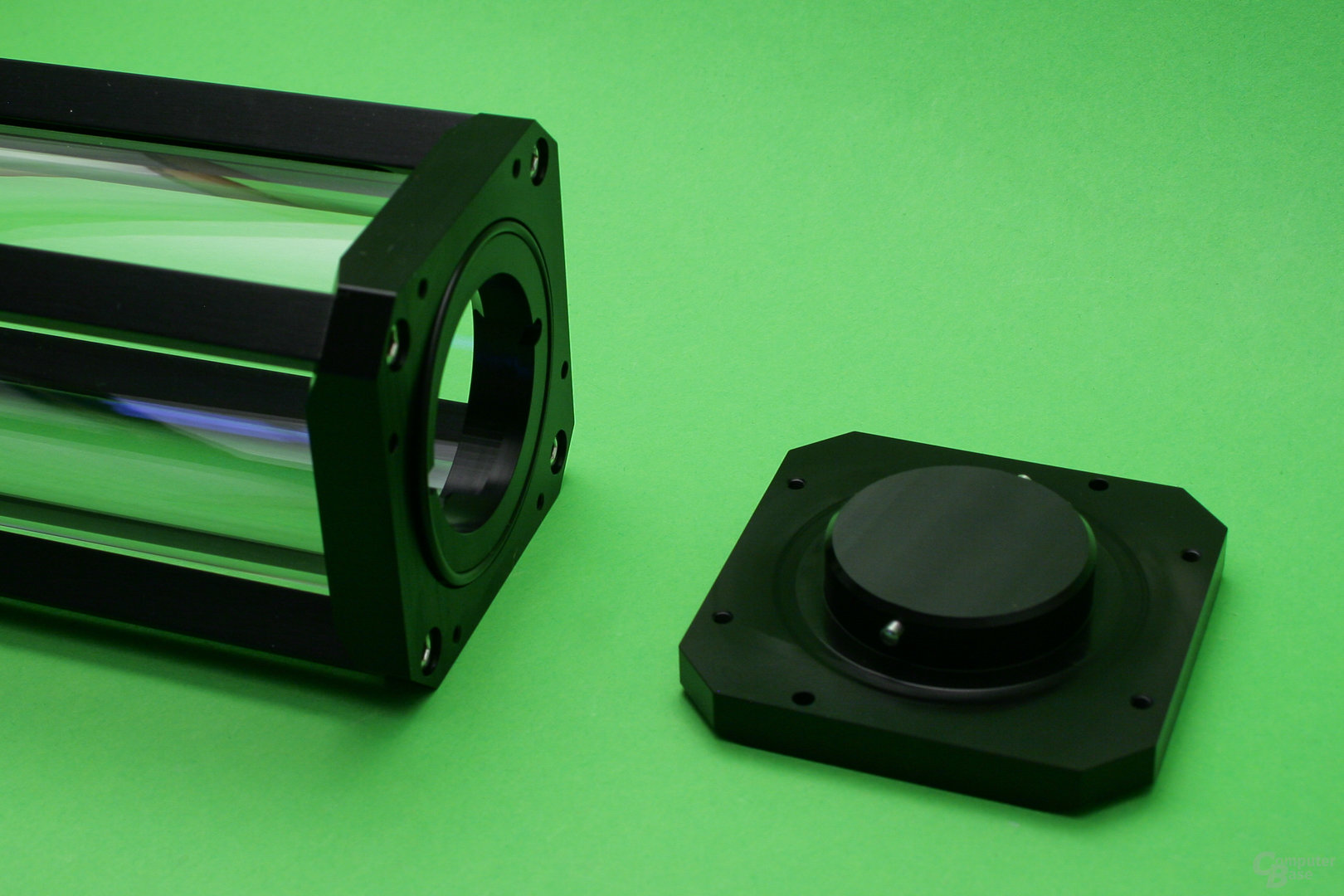 Watercool Heatkiller Tube D5: Deckel mit Bajonett-Verschluss