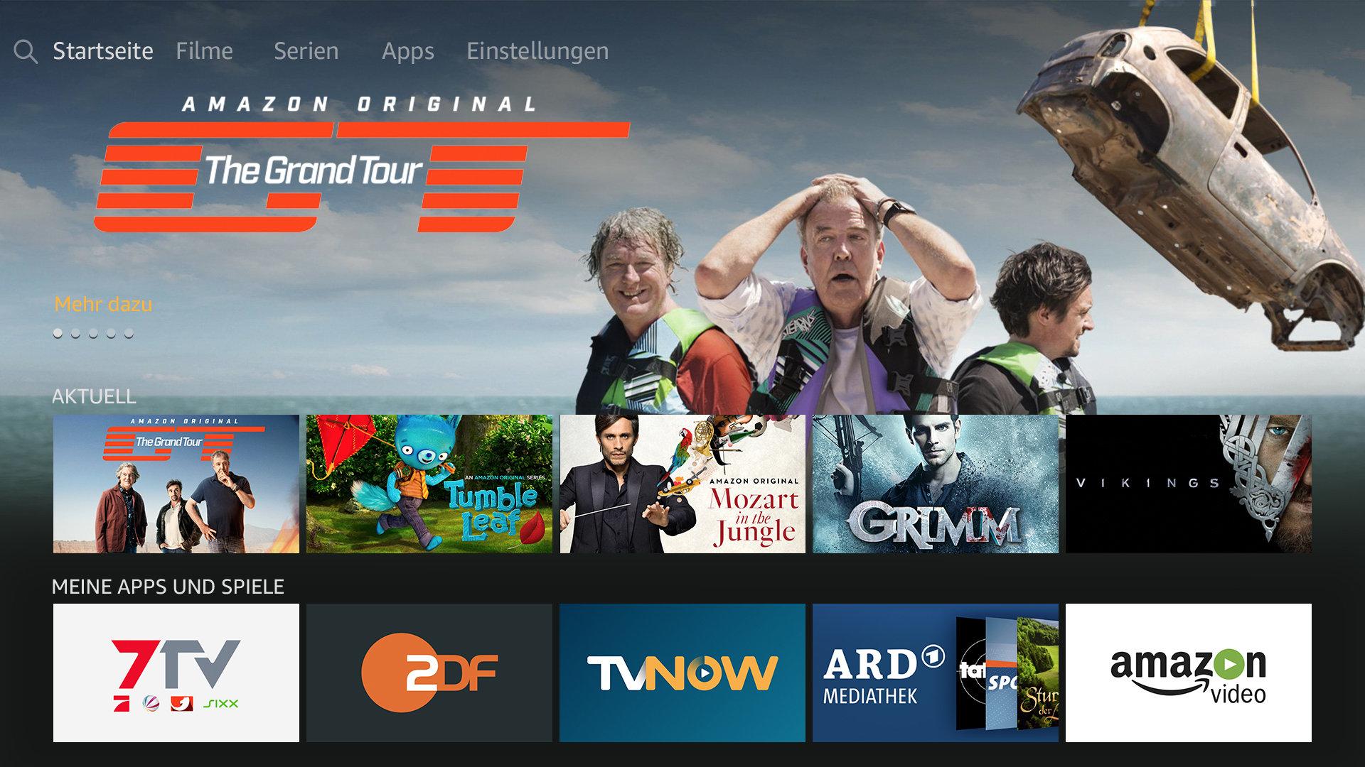 Das neue UI des zweiten Fire TV Stick kommt für alle Generationen