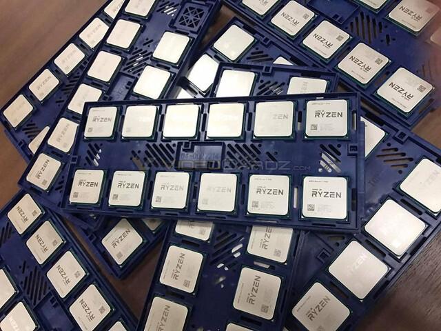 So sehen die Ryzen-CPUs im Handel aus