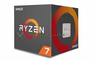 Die Verkaufsverpackung von AMD Ryzen