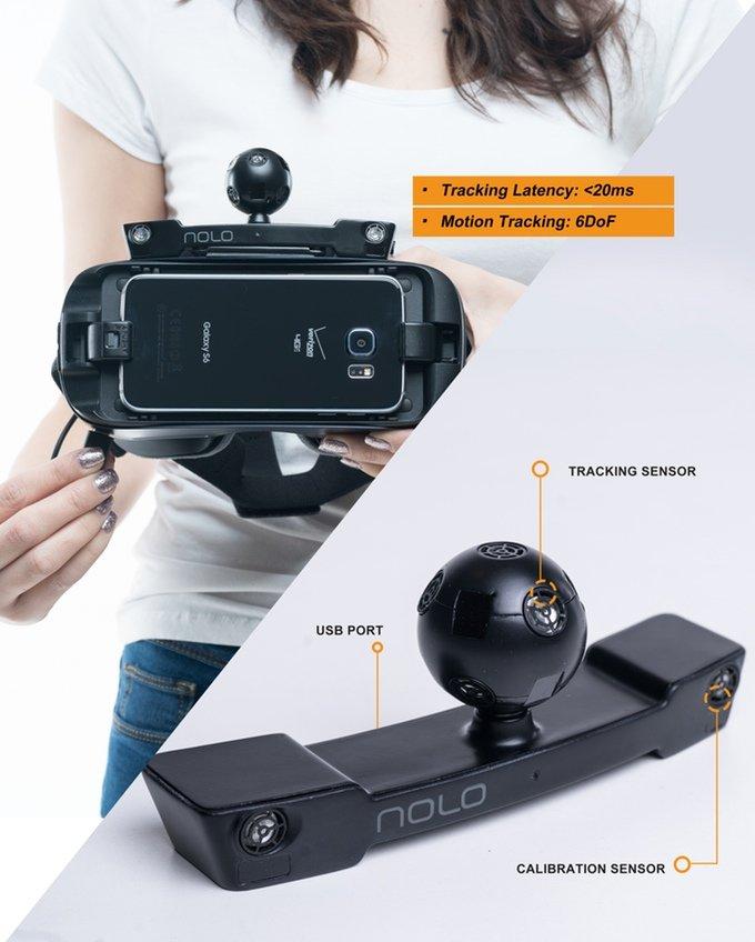 Der Marker für das vorhandene Headset