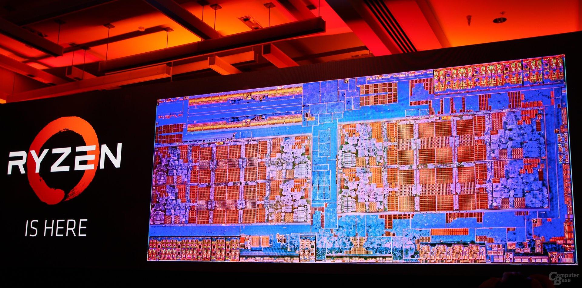 AMD Ryzen startet mit dem 8-Kern-Die