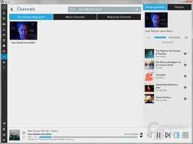Napster Radio-Funktion: Vorschläge gehen auch mal daneben