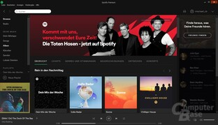Spotify Desktop-Software