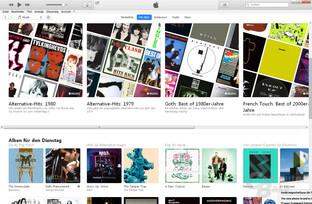 Apple Music per iTunes nach wie vor unübersichtlich