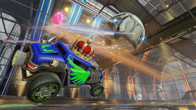 Rocket League: Hot-Wheels-Update holt UHD auf die PS4 Pro