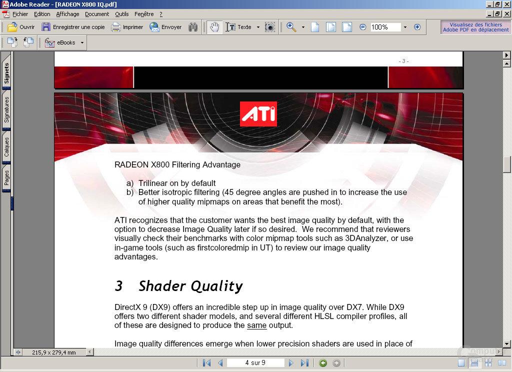 X800 Texture Filtering II
