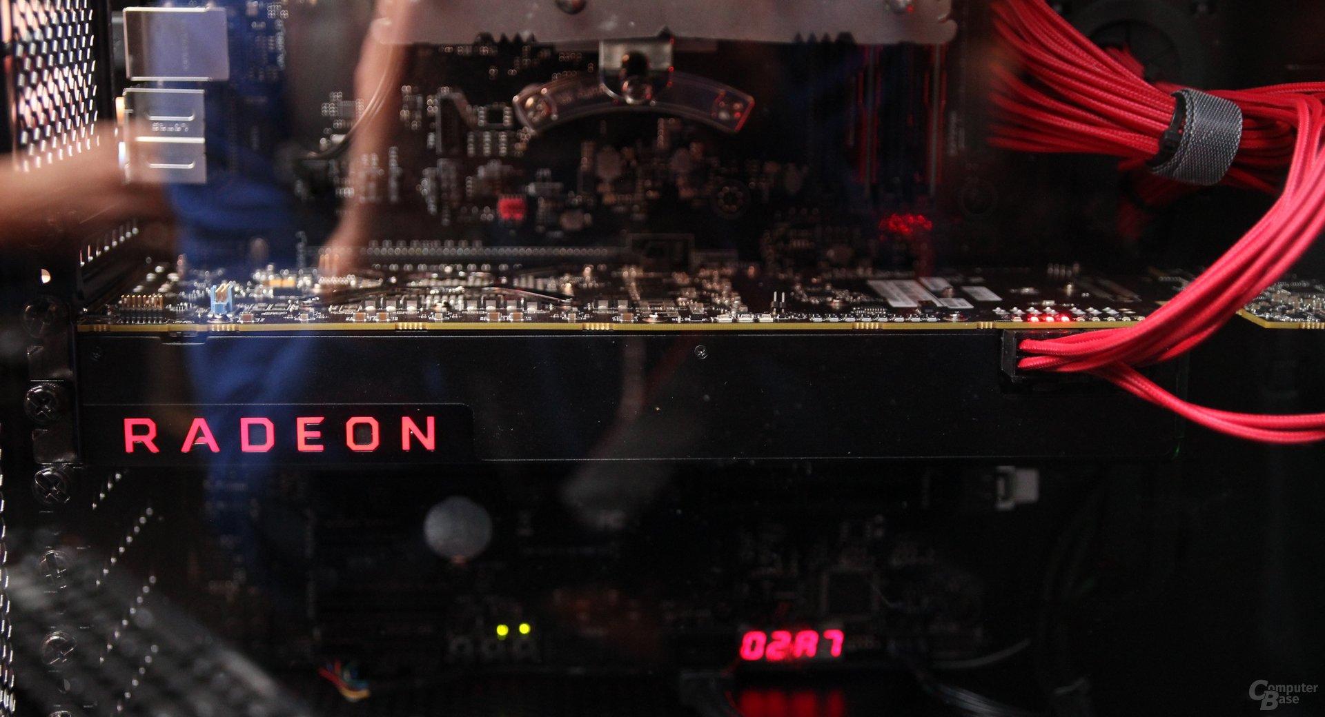 AMD Vega trifft AMD Ryzen R7 1700X