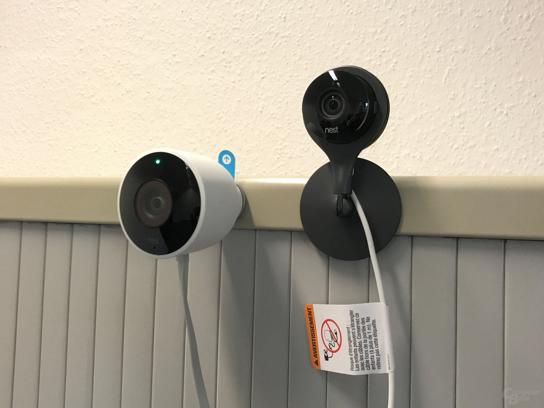 Nest Cam Indoor & Outdoor: magnetische Befestigung