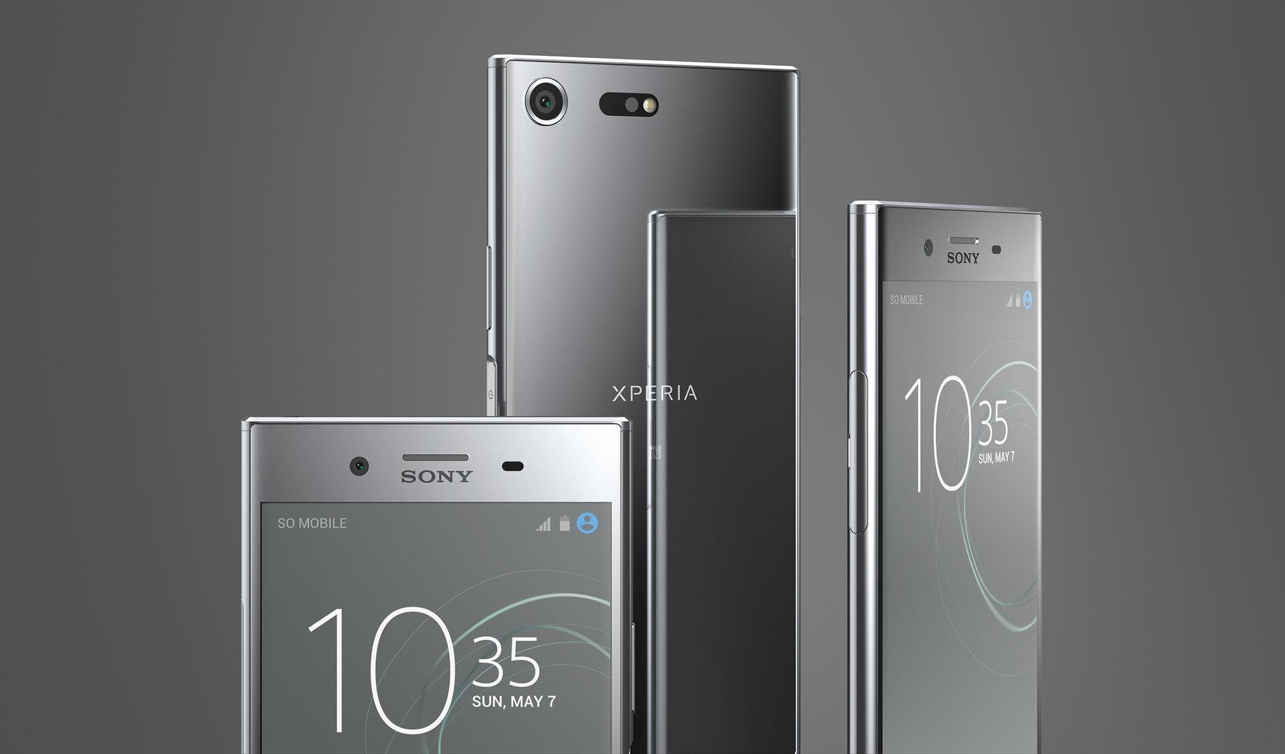 Sony Xperia XZ Premium in Chrom