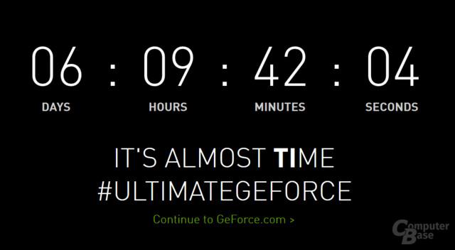"""It's almost """"TI""""me für die GeForce GTX 1080 Ti"""