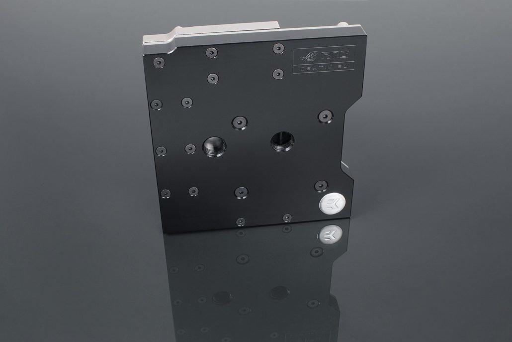 EK-FB Asus M9H Monoblock: CPU- und VRM-Kühler für das Maximus IX Hero