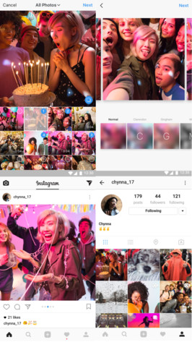 Instagram-Upload mit bis zu 10 Fotos oder Videos