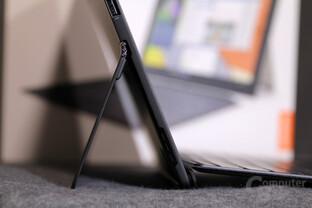 Dicke des Tablets: 8,9mm Tastaturcover: 7mm