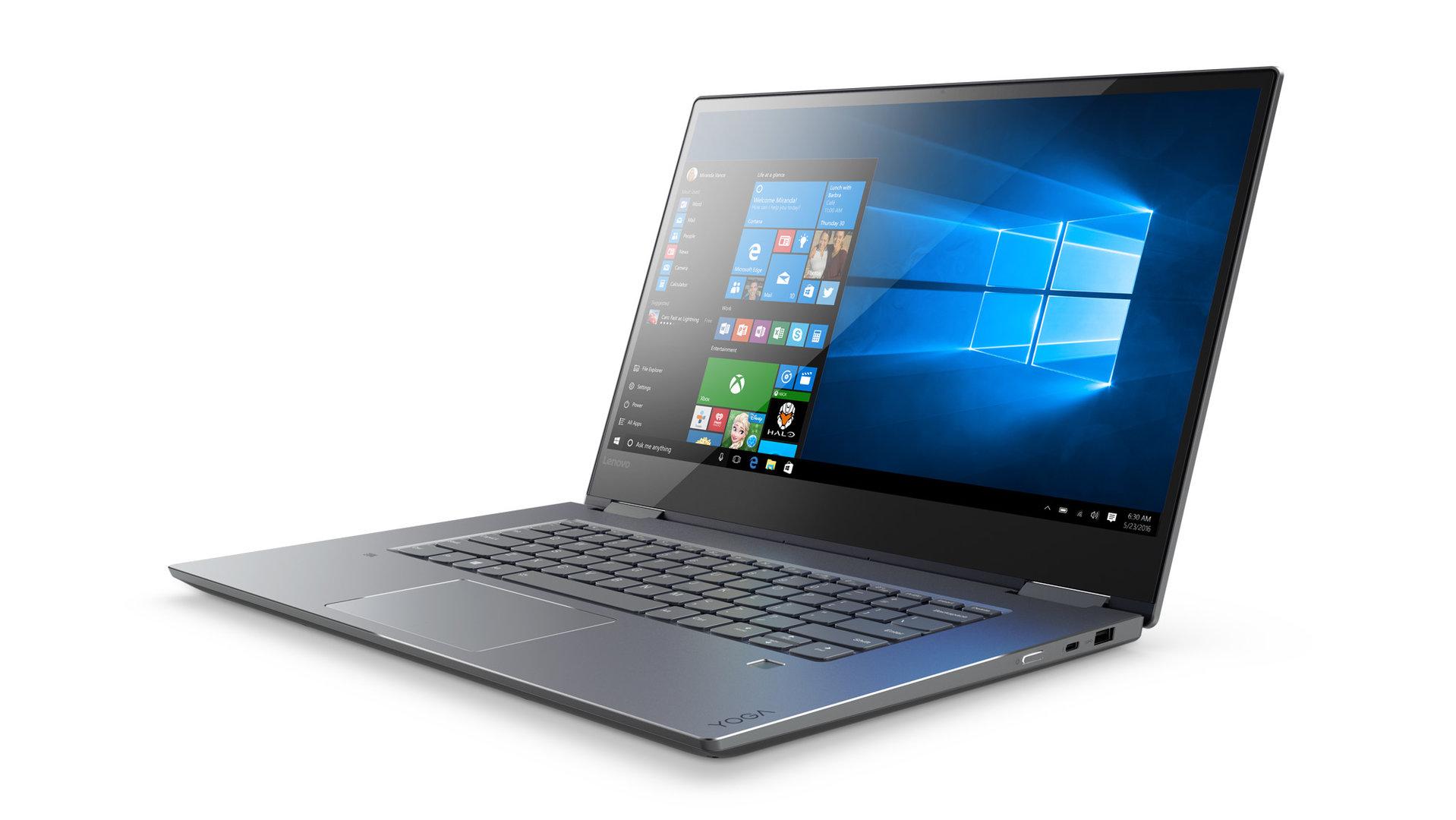 Lenovo Yoga 720 (15 Zoll) in Grau