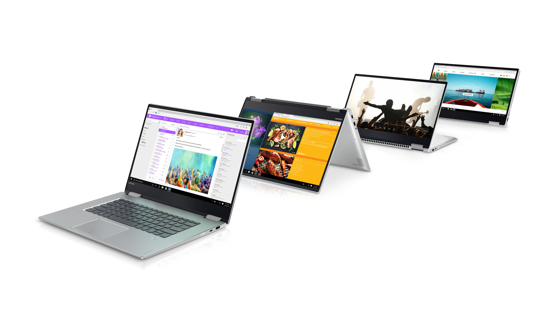 Lenovo Yoga 720 (15 Zoll) in Silber