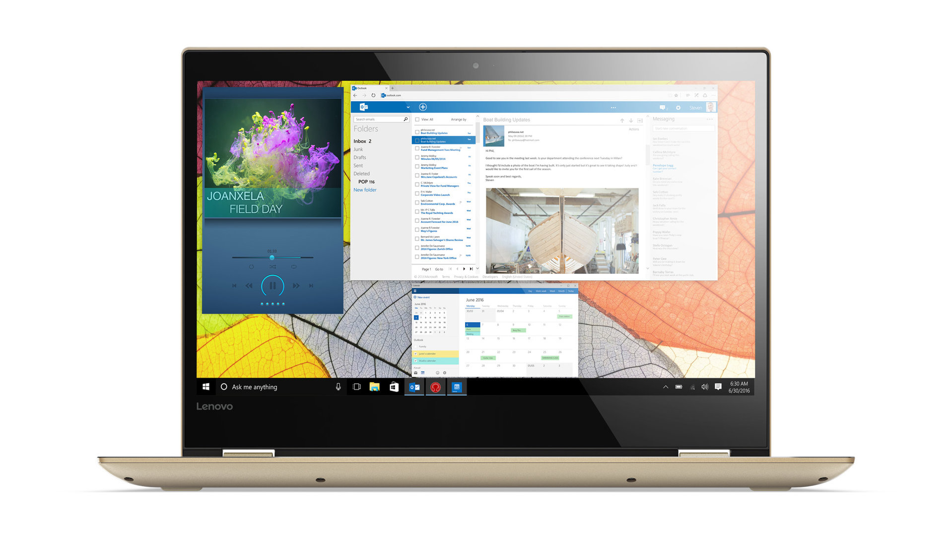 Lenovo Yoga 520 (14 Zoll) in Gold