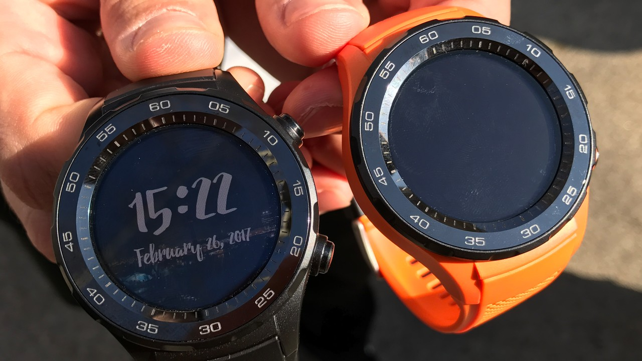 Huawei Watch 2: Sportliche Smartwatch mit Android Wear 2.0 und LTE