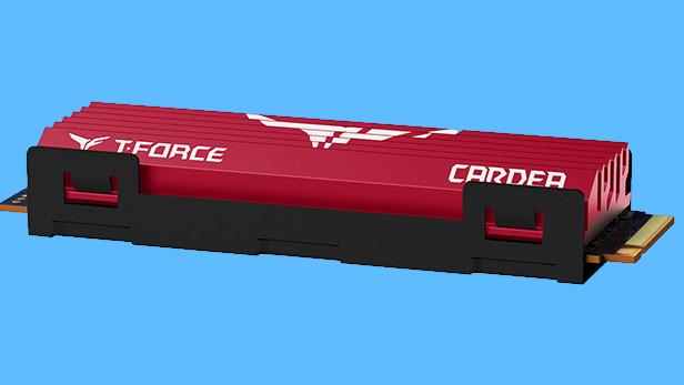 T-Force Cardea PCIe SSD: Team Group geht bei M.2-SSD-Kühlung aufs Ganze
