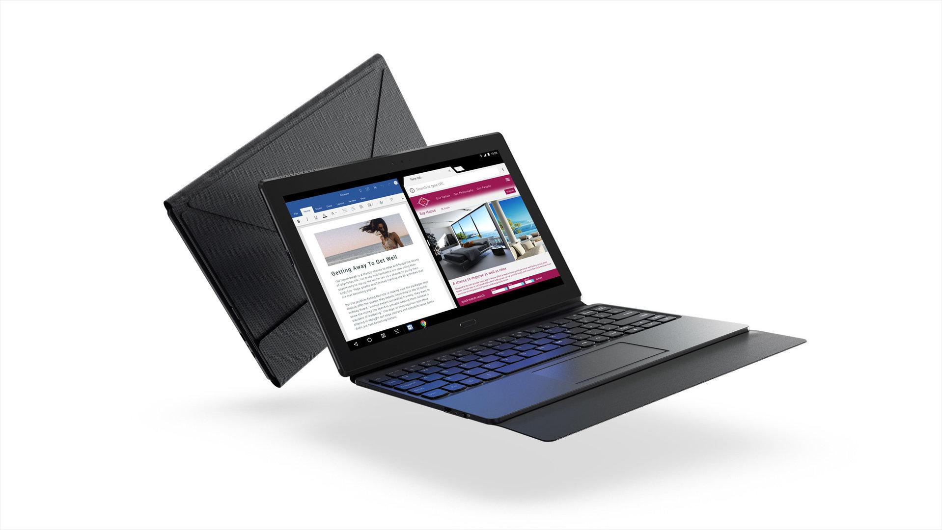 Lenovo Tab 4 10 Plus mit Productivity Pack
