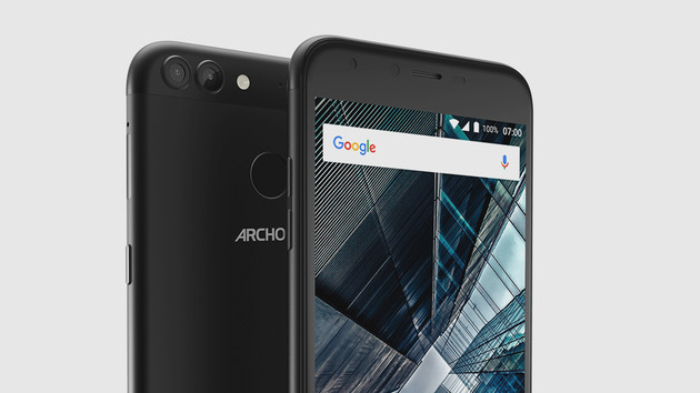 Archos 50 & 55 Graphite: USB Typ C, Android 7.0 und Dual-Kamera für wenig Geld