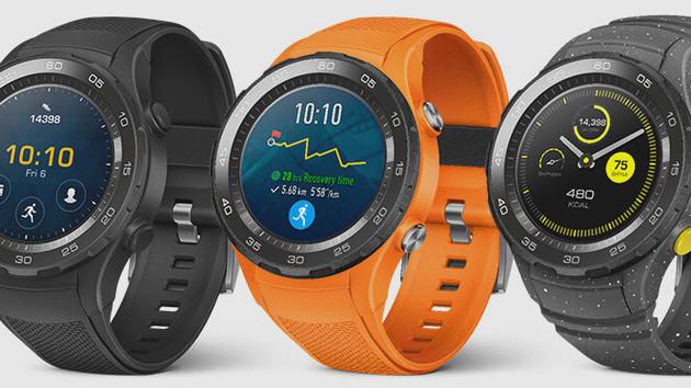 Huawei Watch 2: Bilder zeigen sportliche Smartwatch mit SIM-Schacht