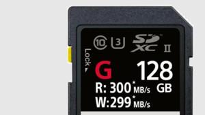 """Sony SF-G: Die """"schnellste SD-Karte der Welt"""" schreibt mit 299 MB/s"""