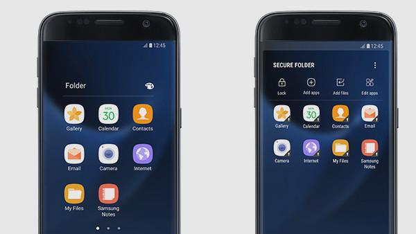 Samsung Secure Folder: Verschlüsselte Sandbox auf dem Galaxy S7 (edge)
