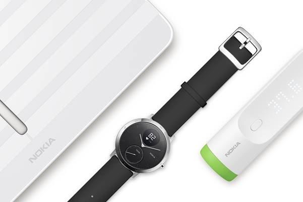Withings-Produkte mit Nokia-Schriftzug