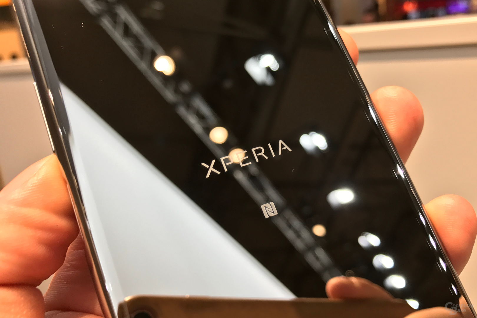 Sony Xperia XZ Premium in Chrom