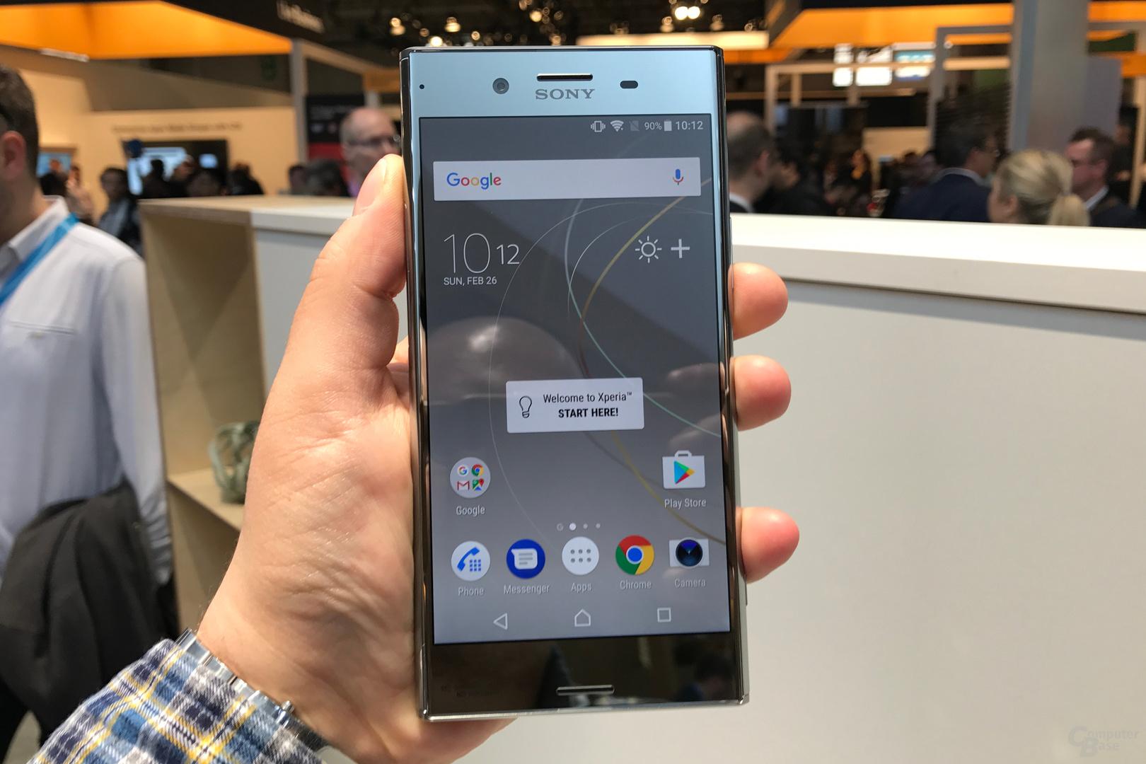 Sony Xperia XZ Premium läuft mit Android 7.1