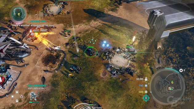 Infanterie kann an festen Positionen in Deckung gehen (Xbox One)