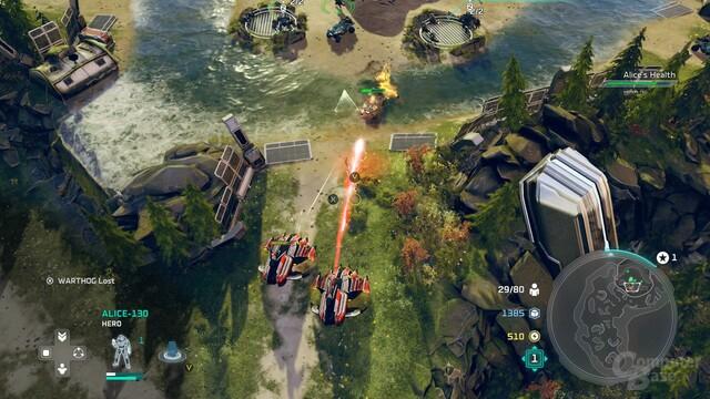 Am spannensten wird die Verteidigung fester Punkte im Tower-Defense-Stil (Xbox One)
