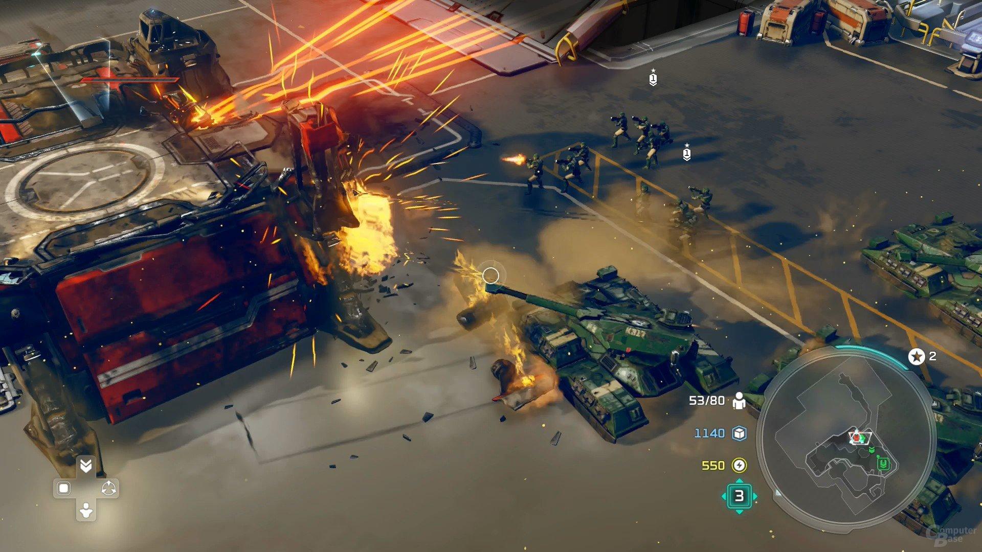 Unabhängig der Zoomstoffe sieht Halo Wars 2 richtig schick aus (Xbox One)