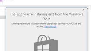 Windows 10: Installationen auf den Windows Store beschränken