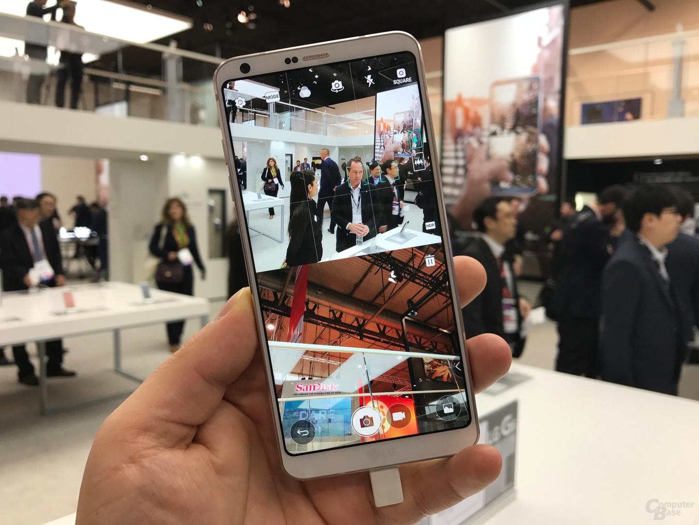 Die 1:1-Kamera mit Sucher und Galerie ist ein Anwendungsbeispiel