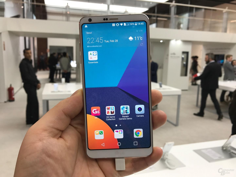 LG G6 in Weiß