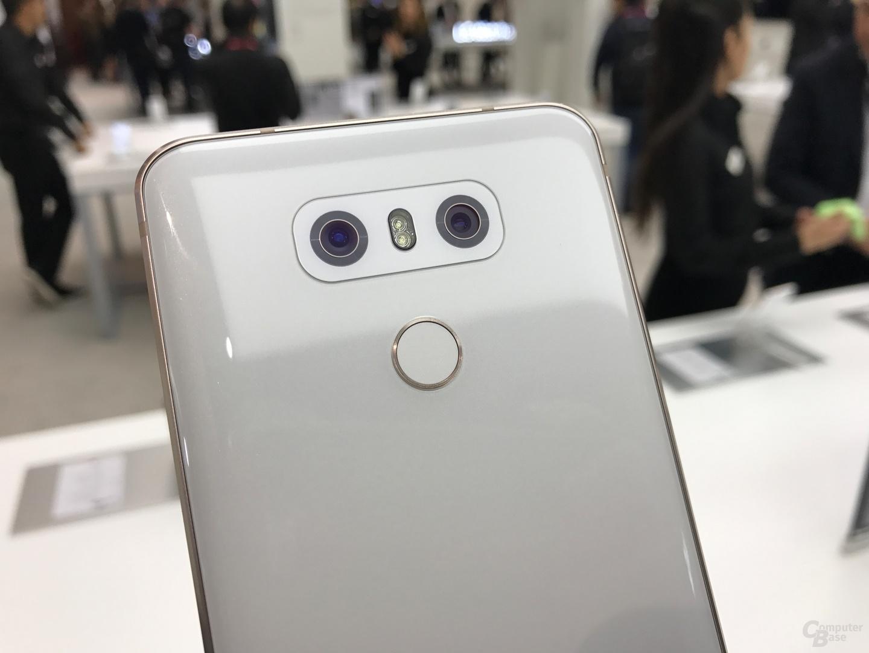 Die Dual-Kamera des G6 mit 2 × 13 Megapixel
