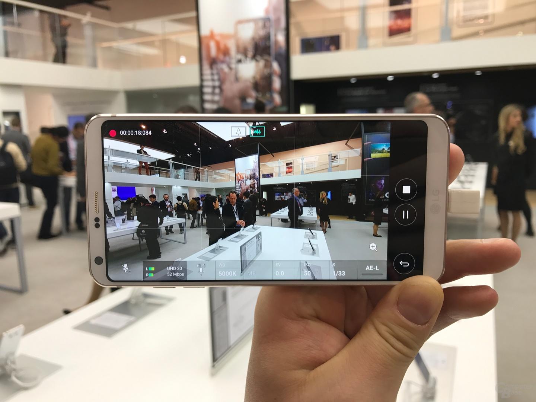 Kamera im manuellen Pro-Modus