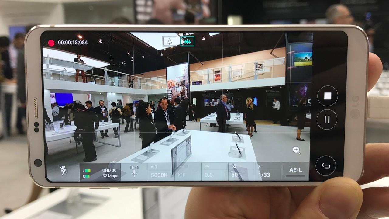 LG G6 Hands-On: Weitwinkel-Kamera und FullVision-Display ausprobiert