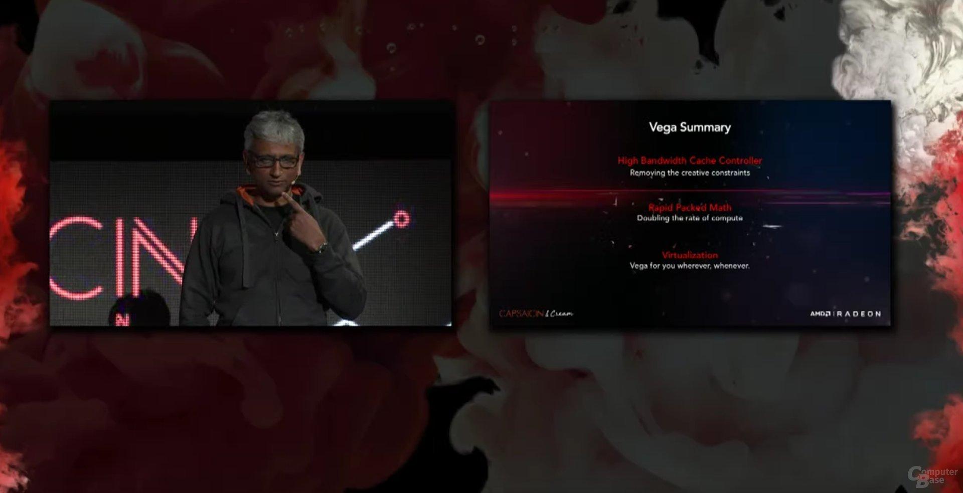 Zusammenfassung der Vega-Demos