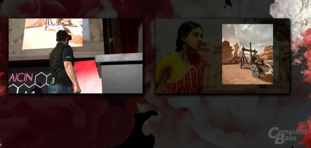 VR-Demo: Sword of Baahubali