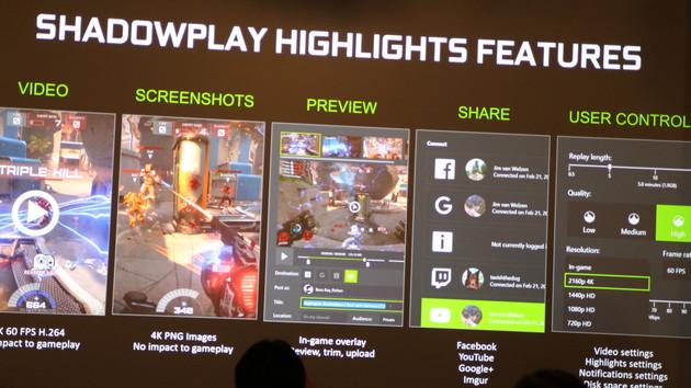 GeForce Experience: Shadowplay wird Highlights und Ansel wird Public