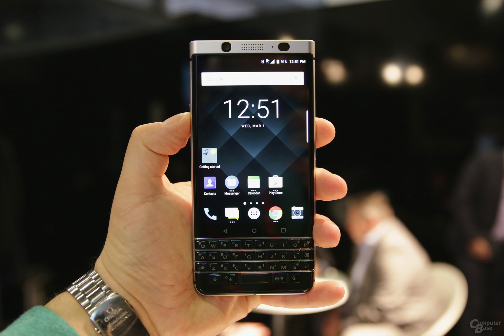 BlackBerry KeyOne mit 4,5-Zoll-Display und Tatatur