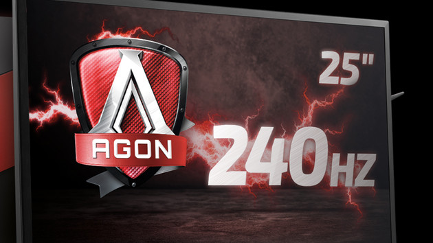 Jetzt verfügbar: 240-Hz-Monitor AOC AG251FZ erreicht den Handel