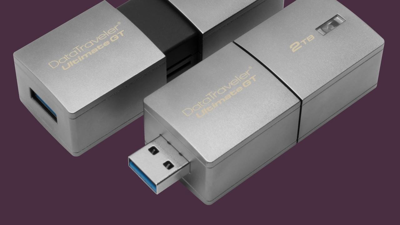 Über 1.600 Euro: Kingston liefert größten und teuersten USB-Stick aus