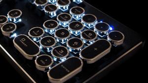 Nanoxia Ncore Retro Aluminium: Retro-Tastatur im US-Design mit besserem Gehäuse