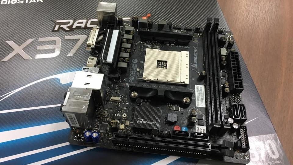 Racing X370/B350-GTN: Biostars Mini-ITX-Mainboard für Ryzen ab 109 USD
